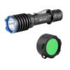 Olight Warrior X Pro + Groen Filter